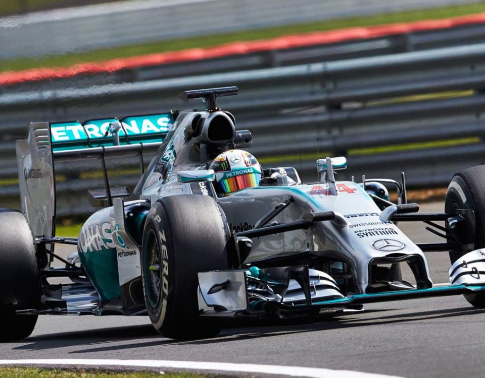 f1 british grand prix chauffeur