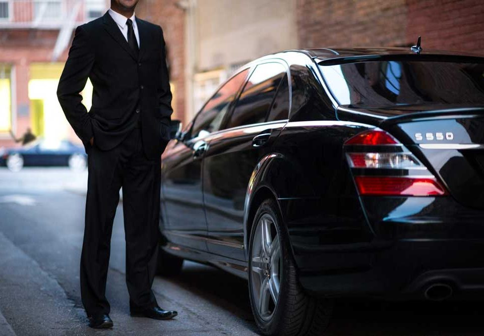 executive chauffeur driven car