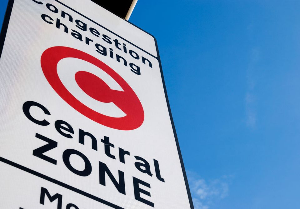 London Congestion Charge 2019